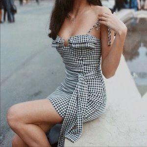 Gingham Style Dress